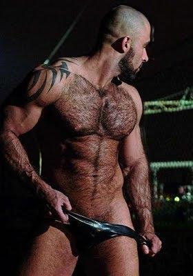 Um top entre os homens peludos gostosos