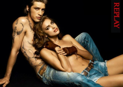 Vinnie Woolston e Irina Shayk