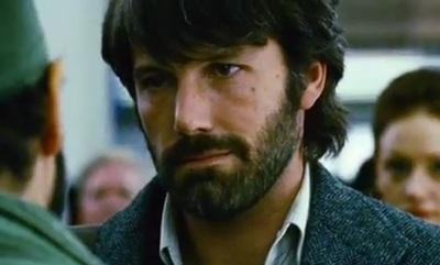 Ben Affleck, com barba, em Argo